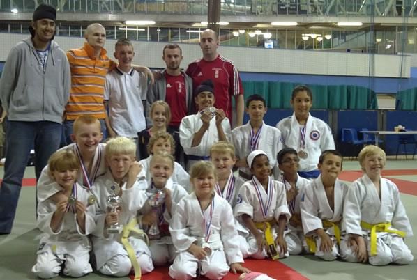 Bradford Juniors at the 2010 National Championship