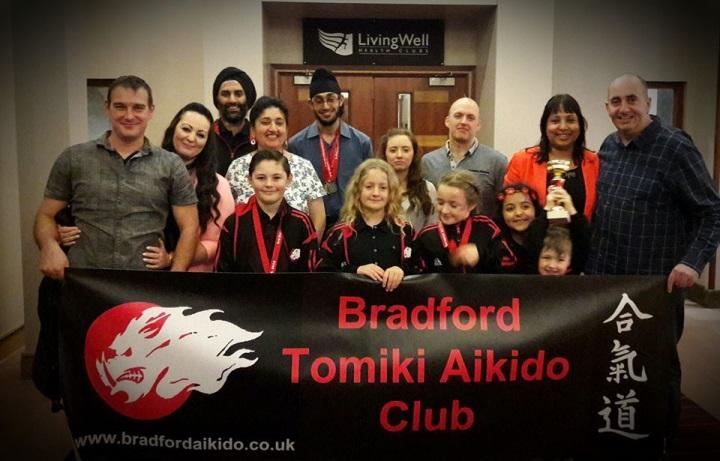Bradford at the 3rd Junior European